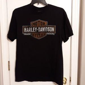 Men's large black Harley t-shirt